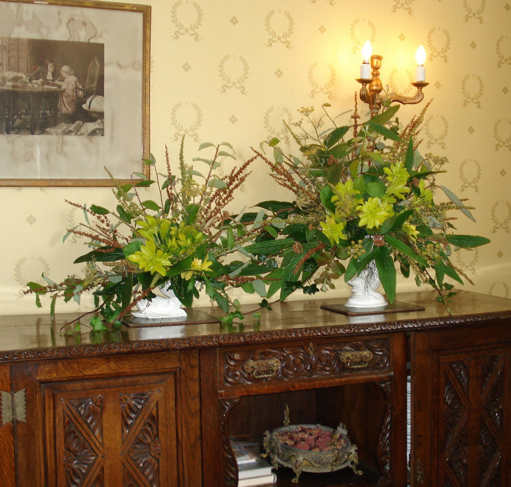 how to decorate a sideboard for festivities the dorset finca