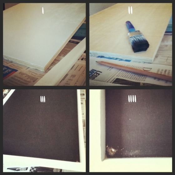 chalkboard step by step
