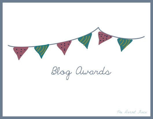 blog awards bunting
