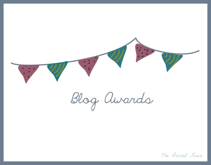 blog awards bunting