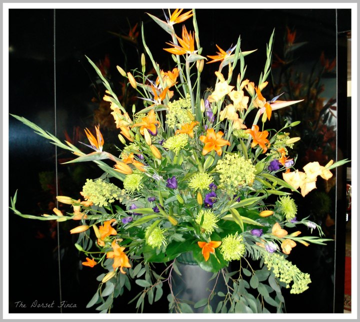 Top Marques flower display