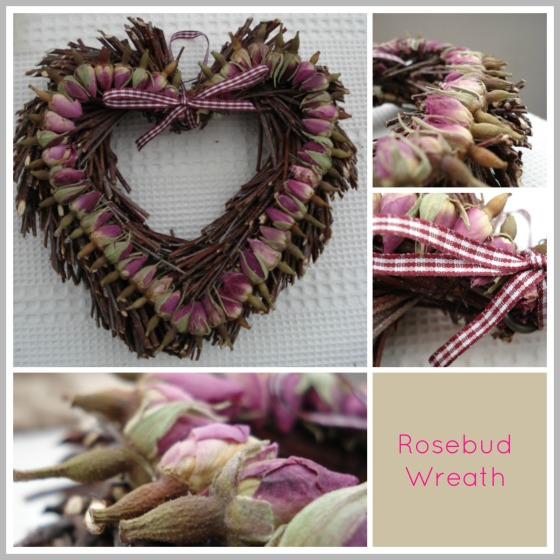Rosebud wreath