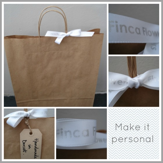 personalised packaging