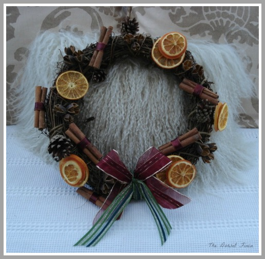 christmas scented wreath