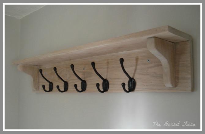Coat Rack From Floorboards