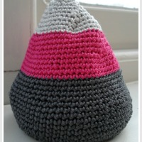 Zingy Crochet Door Stop | The Finished Product