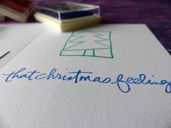 Christmas cards that christmas feeling