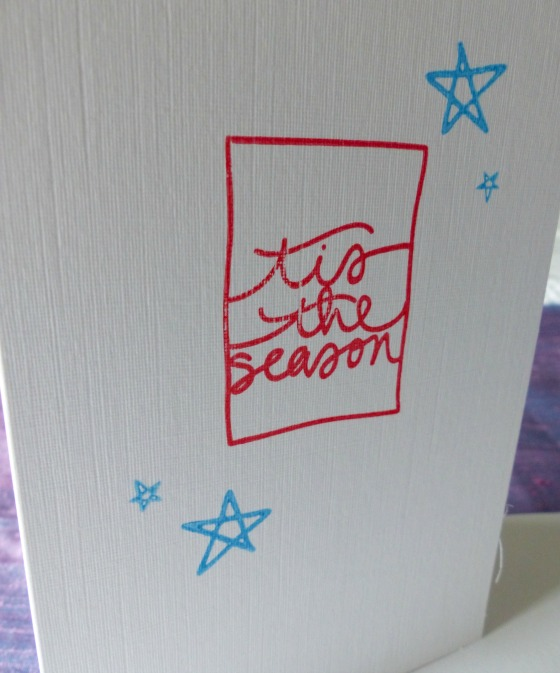 Christmas cards tis the season