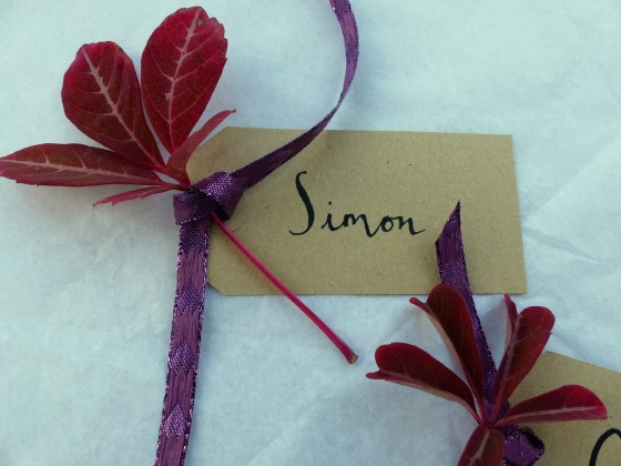 Natural place cards 2