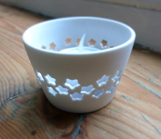 ceramic tea light