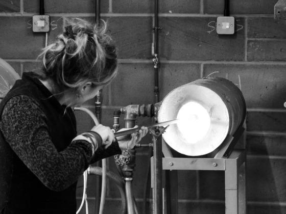 Emsie Sharp bauble making