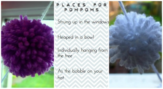 places for pompoms