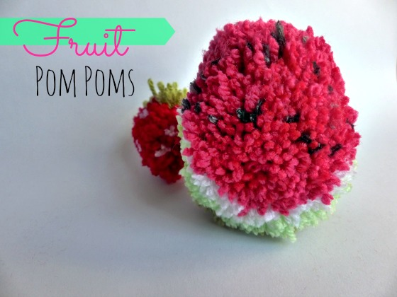 fruit pompoms