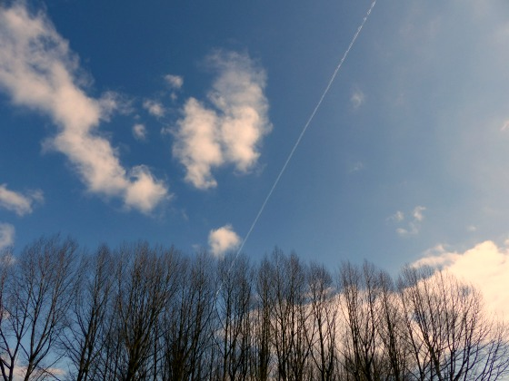 Dorset blue skies