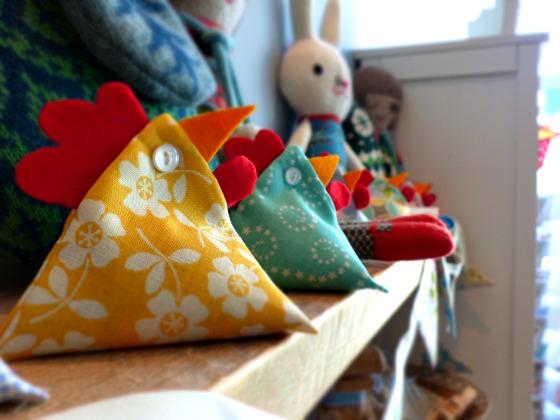 fabric chicks