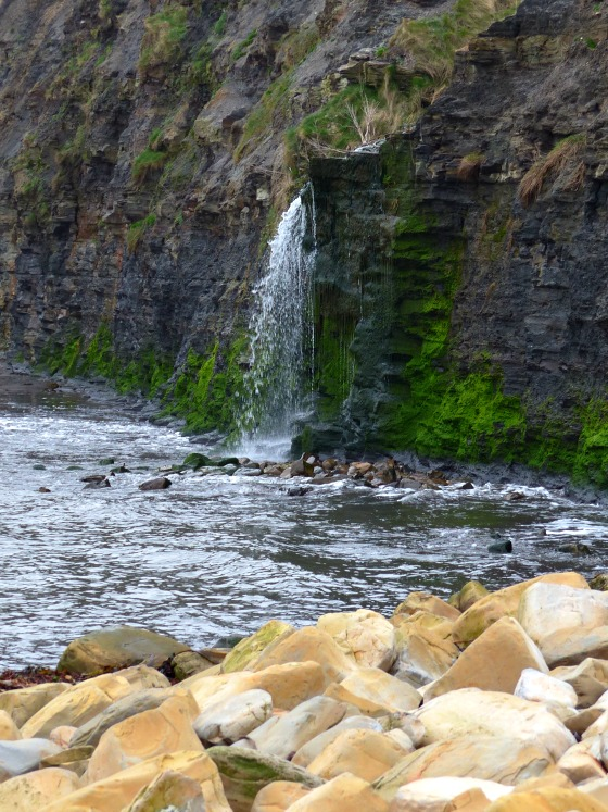 kimmeridge waterfall