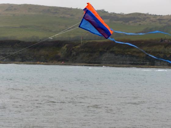 kite at kimmeridge