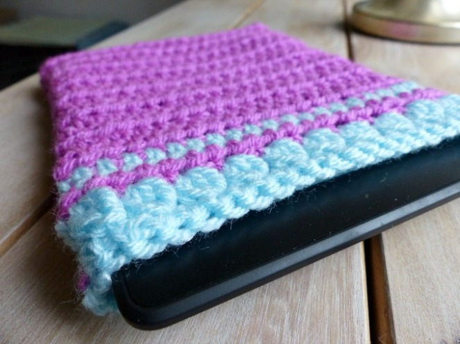 crochet kindle sleeve