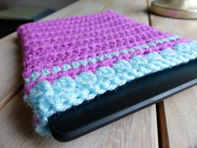 crochet kindle sleeve
