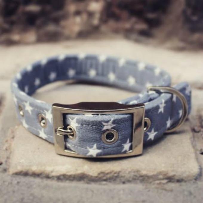 grey star collar sweetpea and boo