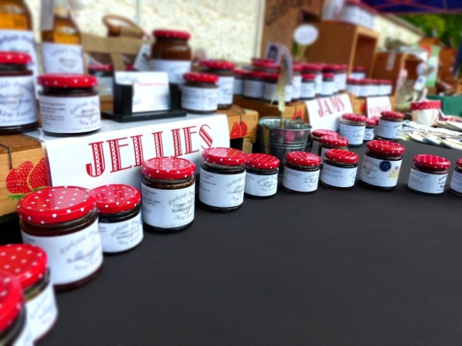 Jams and Jellies from Parkside Produce