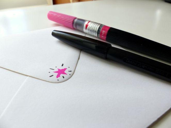 lettering pens