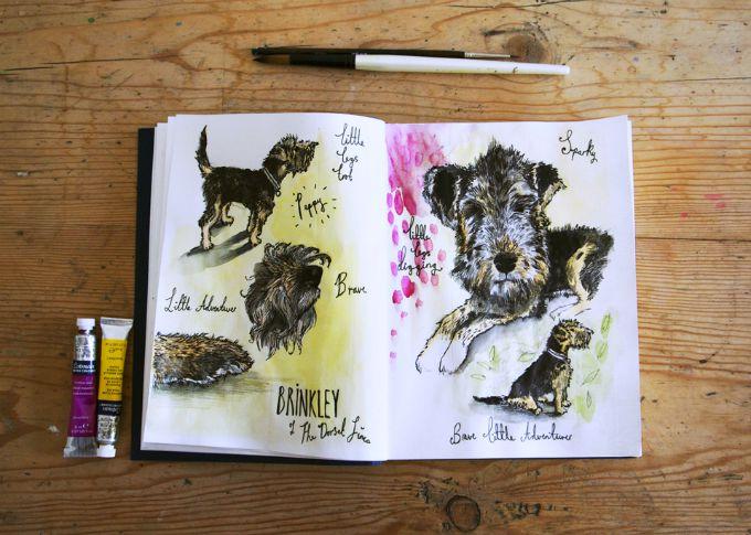 Brinkley sketches 1