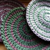 Super Colourful Crochet Coasters