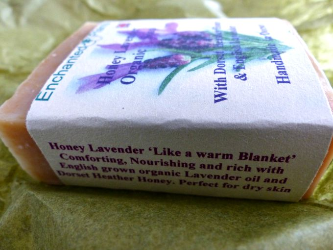 Enchanted Plants Honey Lavender Soap