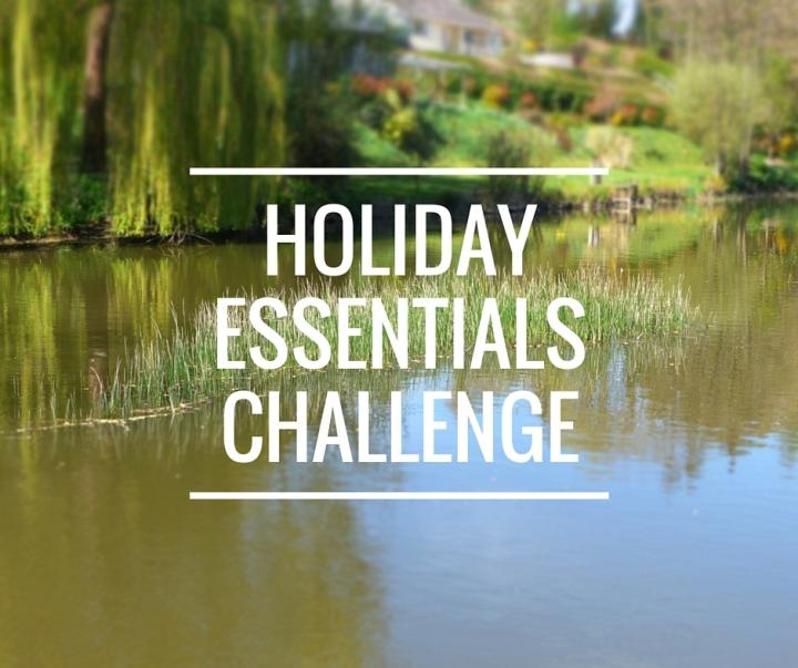 holiday essentials challenge