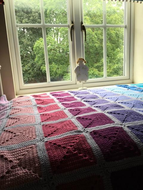 festival blanket in situ