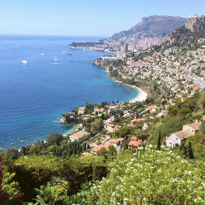 view towards Monaco
