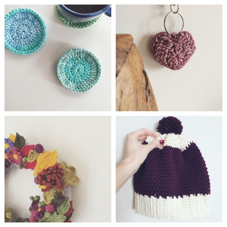 crochet collage