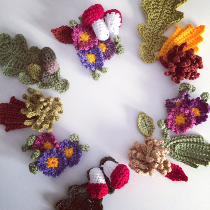 wreath layout