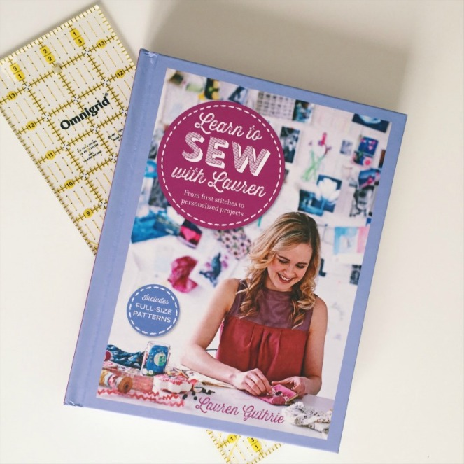 learn to sew by Lauren Guthrie