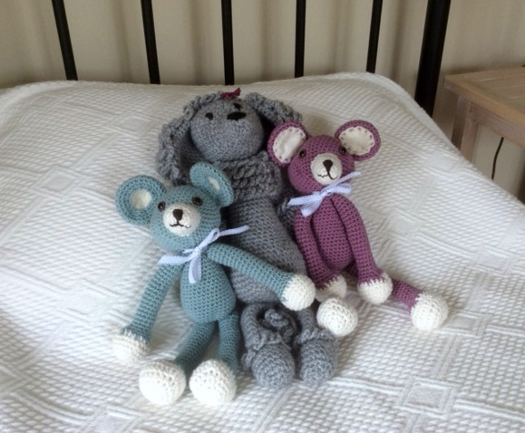 crochet teddies