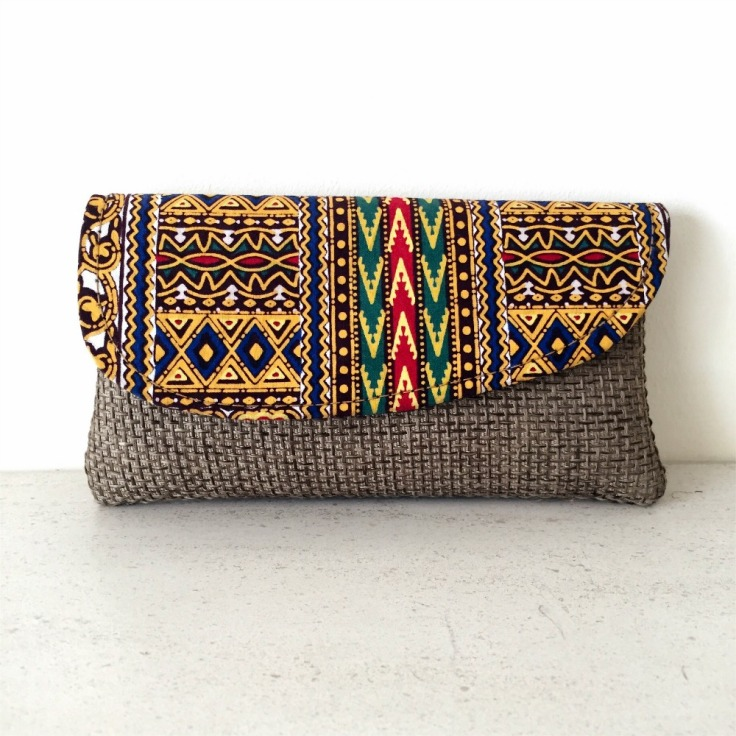 kushika clutch bag from Wild Home